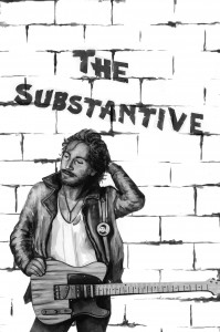 Bruce Springsteen by Lilly Allen for The Substantive (portrait)