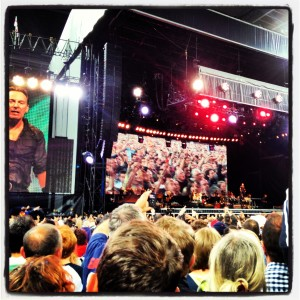 Bruce Springsteen, Wembley Stadium, 15 June 2013
