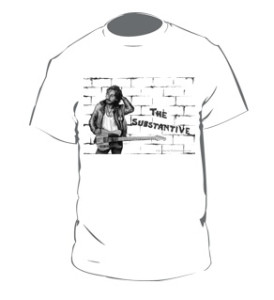 Bruce Springsteen T-Shirts - an exclusive illustration of The Boss for The Substantive
