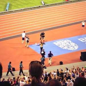 Usain Bolt London Anniversary Games Diamond League