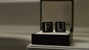 House of Cards Season 2 FU Cufflinks picture